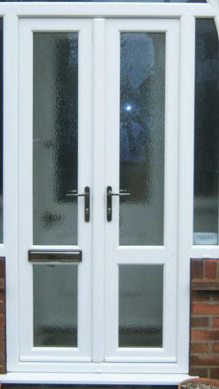 Upvc residential doors deceuninck doors front doors for Ready made upvc doors