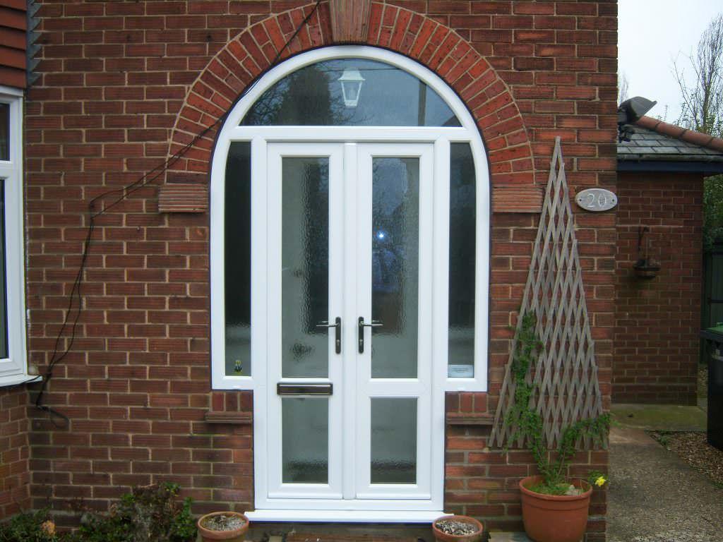 uPVC residential doors