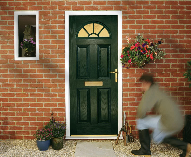 Green Composite Doors