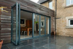 Deceuninck uPVC New Wave Door open