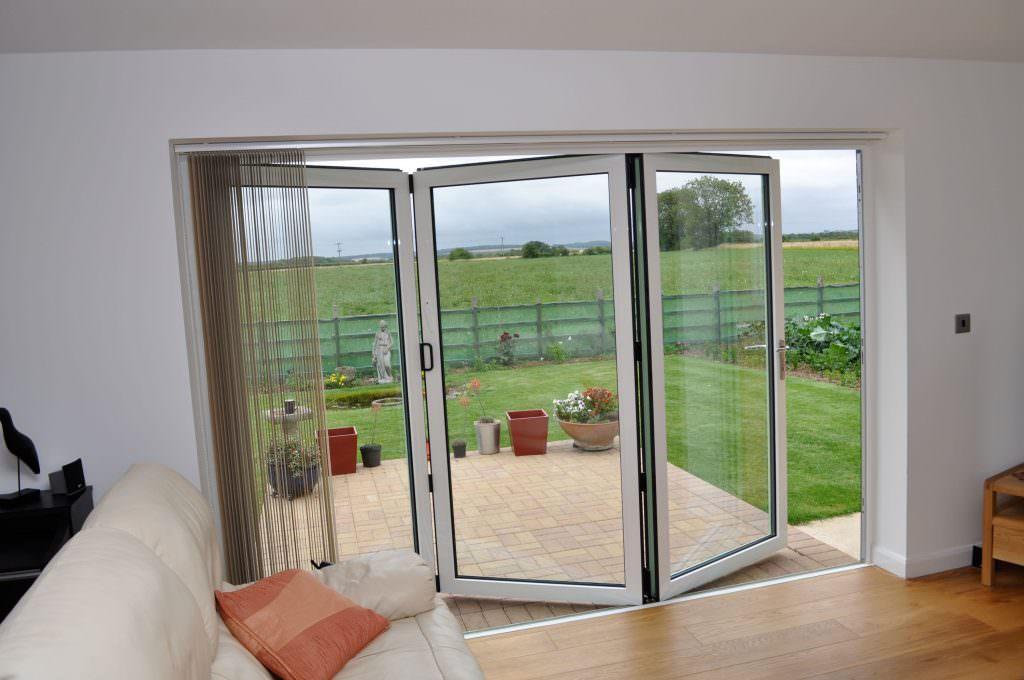 Aluminium Bi-Fold Doors interior