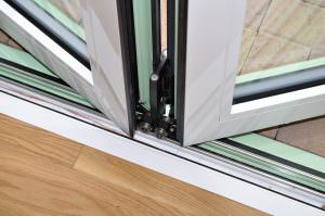 Aluminium Bi-Fold Door slider