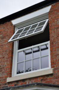white open Deceuninck 2800 Casement Windows