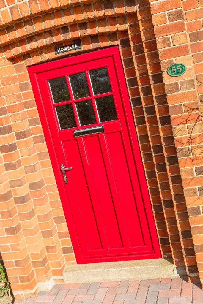 Red StyleLine Doors