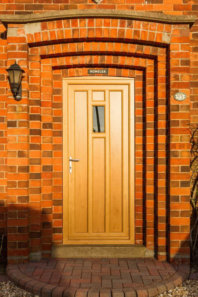Brown StyleLine Doors