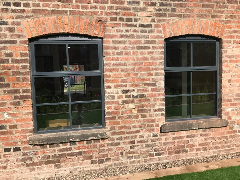 Aluminium Slimline Windows Sternfenster