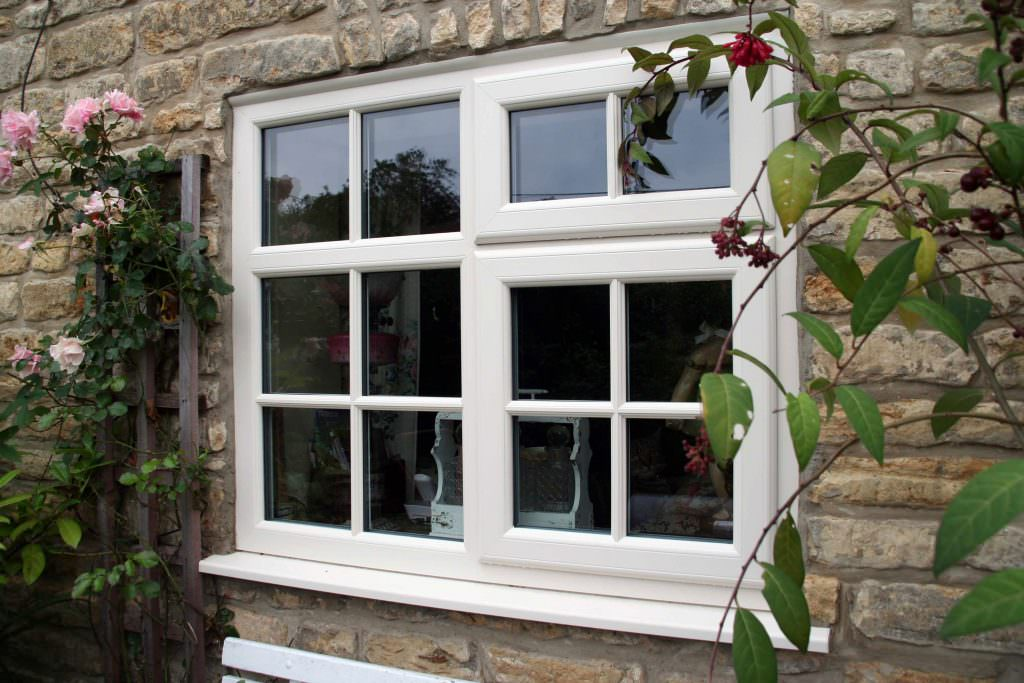 white Deceuninck 2800 Casement Windows