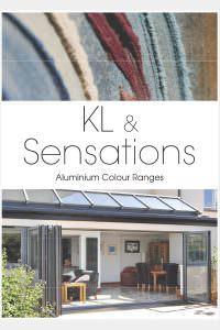 Aluminium colour chart – Sensations and KL colours
