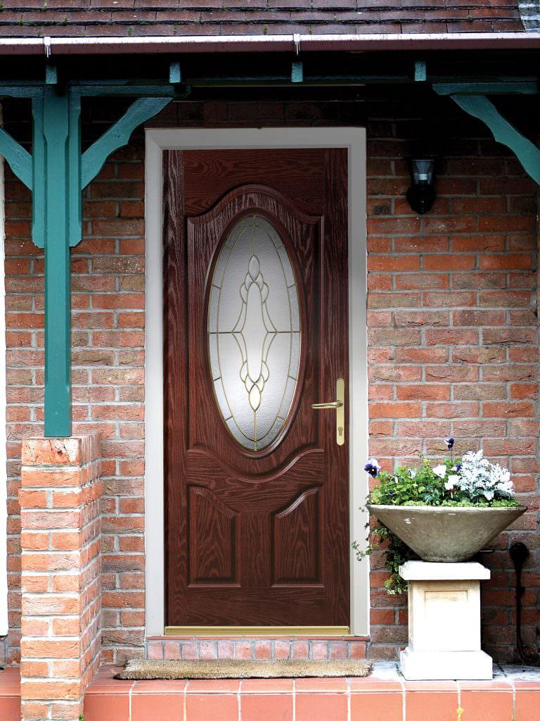 Brown Composite Doors