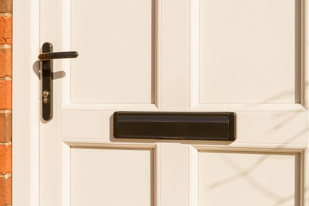 StyleLine Door black letterbox