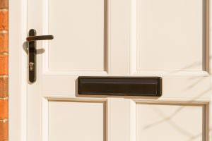 StyleLine Door black letterbox