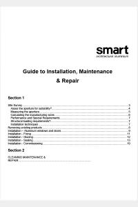 Smarts Guide to Installation-Maintenance-Care 2013