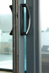 Smart aluminium patio doors