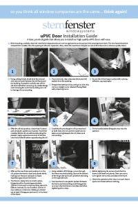 PVC Door Installation Guide