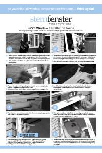 PVC Window Installation Guide