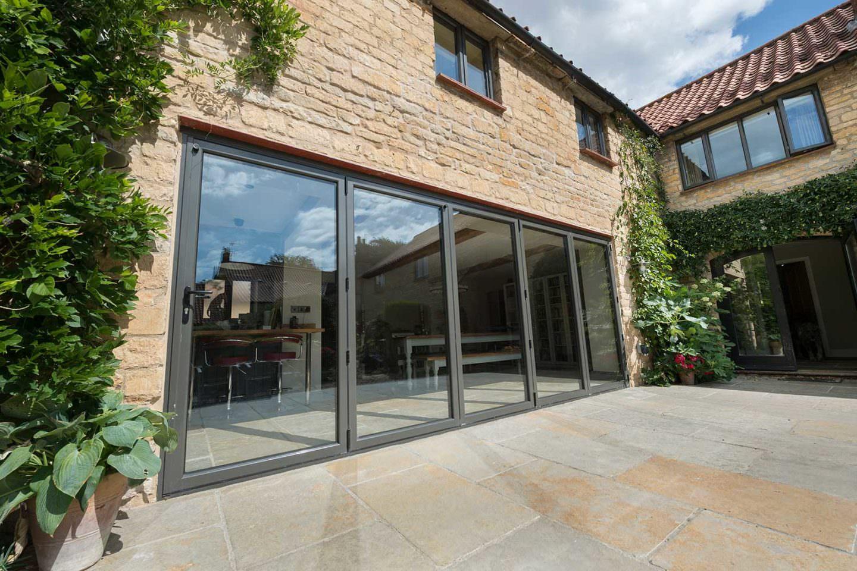 Aluminium Bi-Fold Doors UK