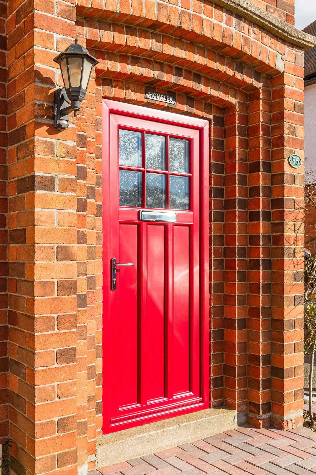 upvc residential door