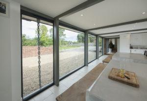 Alitherm grey windows