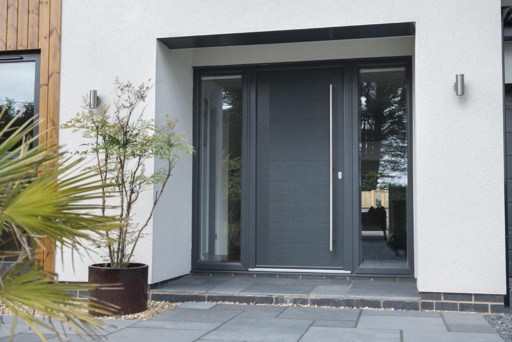 composite door anthracite grey