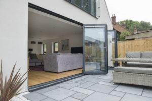 Aluminium bi-fold doors costs