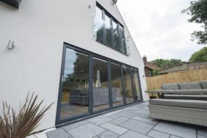Aluminium bi-fold doors price