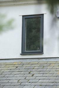 exterior casement window