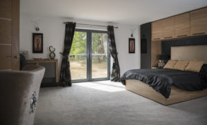 Alitherm Plus French door - KL005 Anthracite grey