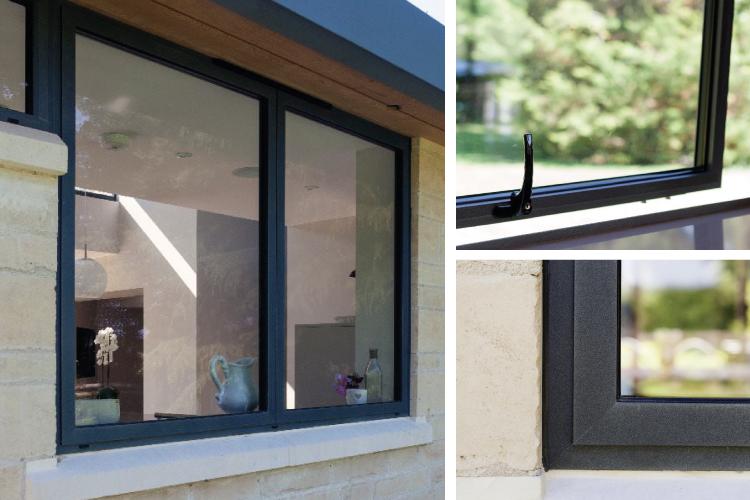 Aluminium windows for trade