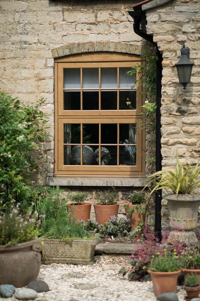 Woodgrain Windows Oak uPVC