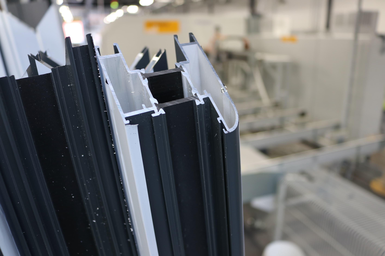 Sternfenster Aluminium